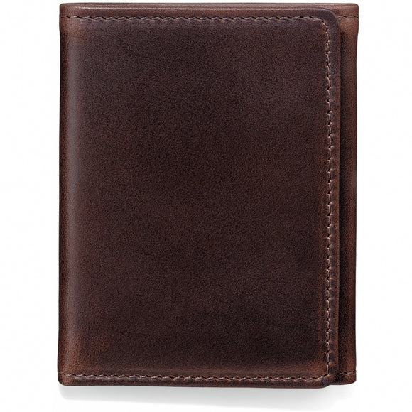 Brighton Forbes Tri-Fold Wallet- Brown