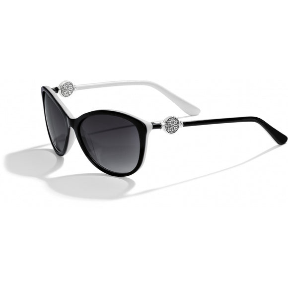 Brighton Ferrara Sunglasses-Black & White