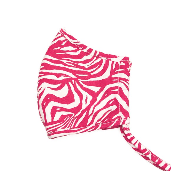 Brighton Happy Stripes Face Mask - Pink