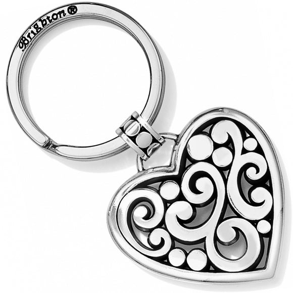 Brighton Contempo Heart Key Fob