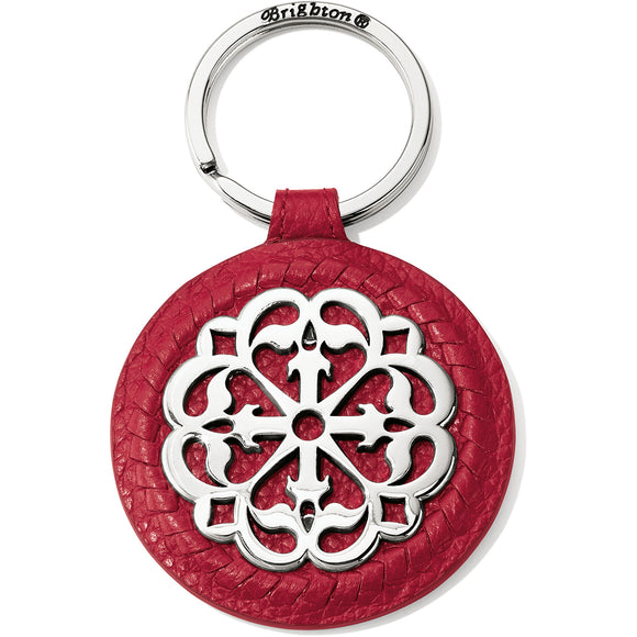 Brighton Ferrara Leather Key Fob - Lipstick
