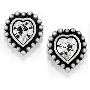 Brighton Shimmer Heart Mini Post Earrings