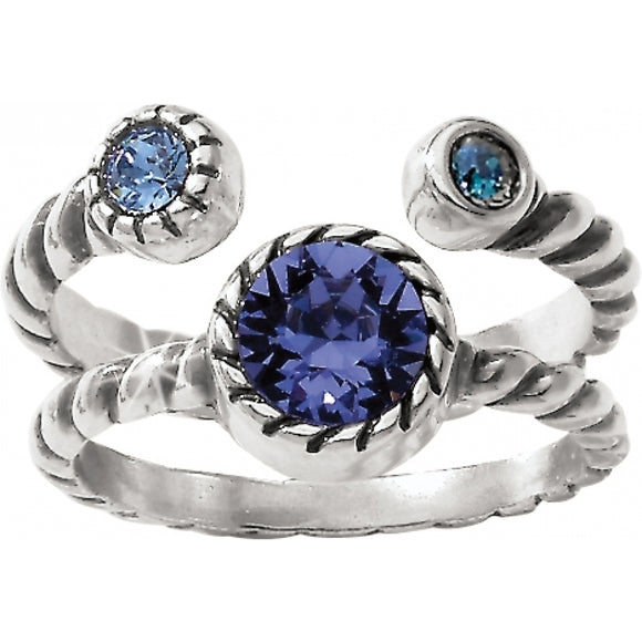 Brighton Halo Duo Ring - Size 6