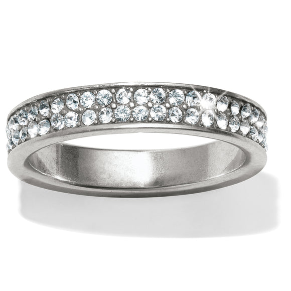 Brighton Meridian Swing Pave Band Ring - Size 8