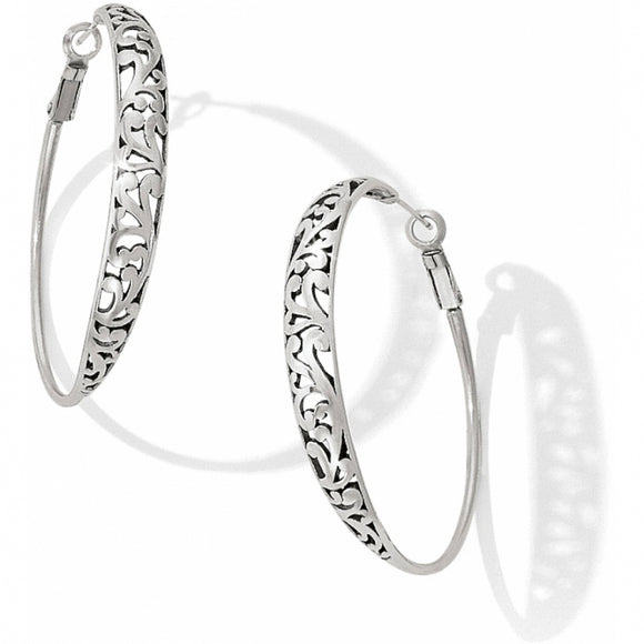 Brighton Elora Hoop Leverback Earrings