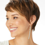 Brighton Tapestry Slim Fringe French Wire Earrings