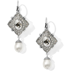 Brighton Mumtaz Pearl Leverback Earrings