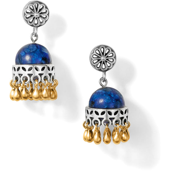 Brighton Udaipur Palace Post Drop Earrings