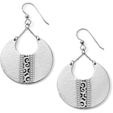 Brighton Mingle Disc Large French Wire Earrings