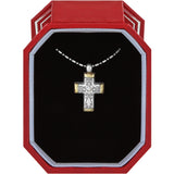 Brighton Venezia Petite Cross Necklace Gift Box