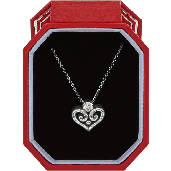 Brighton Alcazar Heart Necklace Gift Box