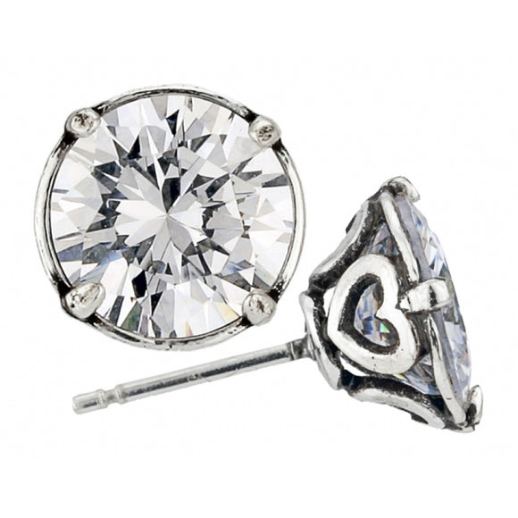 Brighton Brilliance 9MM Post Earrings