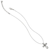 Brighton Interlok Petite Cross Necklace