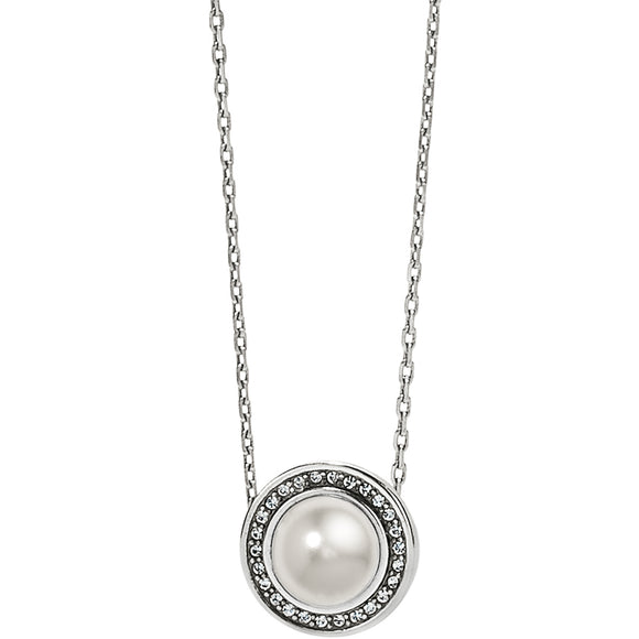 Brighton Chara Ellipse Pearl Short Necklace