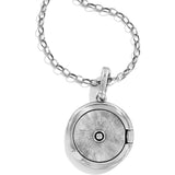 Brighton Twinkle Small Round Locket Necklace