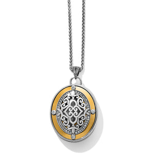 Brighton Intrigue Convertible Locket Necklace