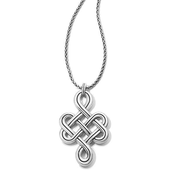 Brighton Interlok Endless Knot Convertible Necklace