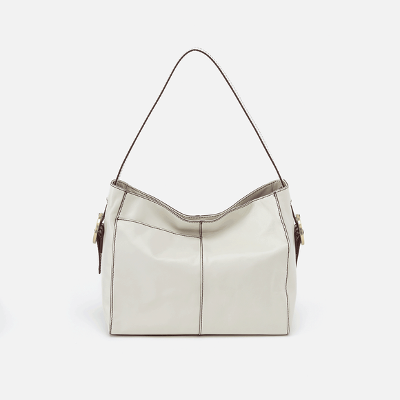 Hobo Render Shoulder Bag-Latte