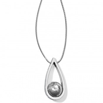 Brighton Chara Ellipse Spin Pearl Long Necklace