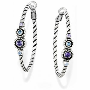Brighton Halo Hoop Post Earrings