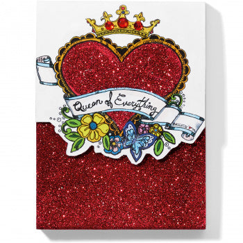 Brighton Queen Of Everything Notepad