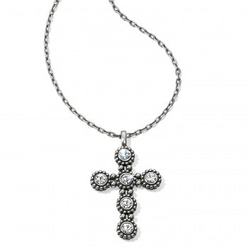 Brighton Twinkle Convertible Cross Necklace