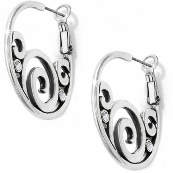 Brighton London Groove Hoop Post Earrings