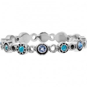 Brighton Halo Burst Hinged Bangle