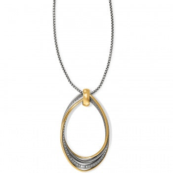 Brighton Neptune's Rings Twirl Convertible Pendant Necklace