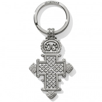 Brighton Ethiopian Cross Key Fob