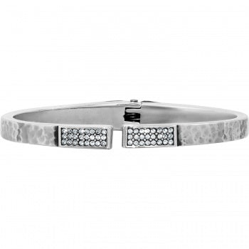 Brighton Meridian Zenith Hinged Bangle-Silver
