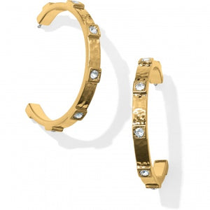 Brighton Meridian Zenith Station Hoop Earrings - Gold