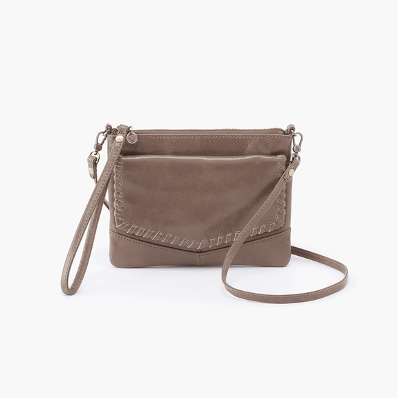 Hobo Stroll Crossbody-Gravel