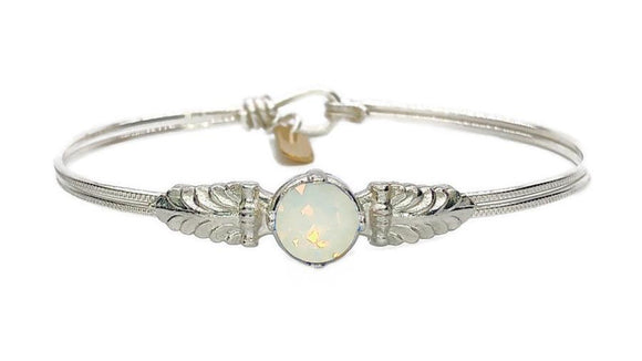 Earth Grace Purity White Opal Timeless Bracelet