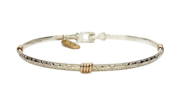 Earth Grace Silver Venus Bracelet