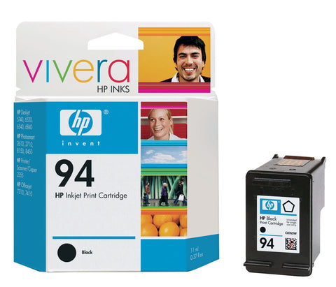 HP 94 (C8765WN) Black Original Ink Cartridge (480 Yield)
