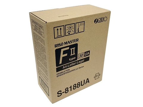 Riso (S-8188US) RZ/EZ220/EZ221 (Type FII) A4 Thermal Masters