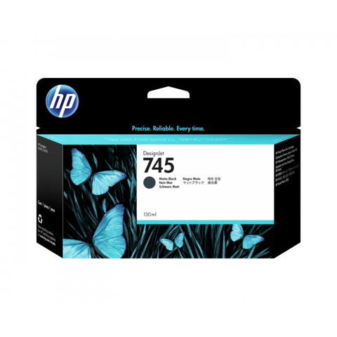 HP 745 (F9K05A) Matte Black Original Ink Cartridge (300 ml)
