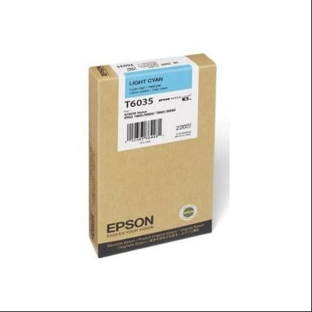 Epson Light Cyan UltraChrome K3 Ink Cartridge (220 ml)