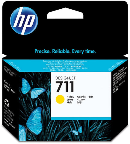 HP 711 (CZ132A) Yellow Original Ink Cartridge (29 ml)