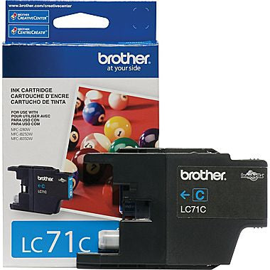Brother YIELD INK CARTRIDGE CYAN