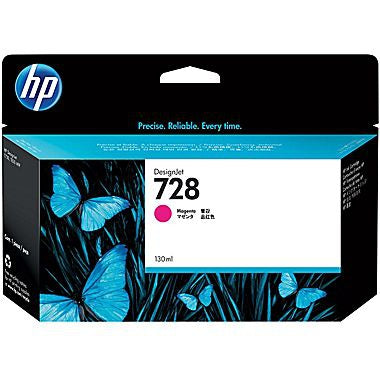 HP 728 (F9J66A) Magenta Original Ink Cartridge (130 ml)
