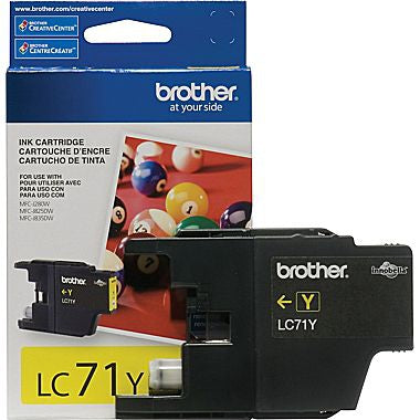 Brother YIELD INK CARTRIDGE YELLOW