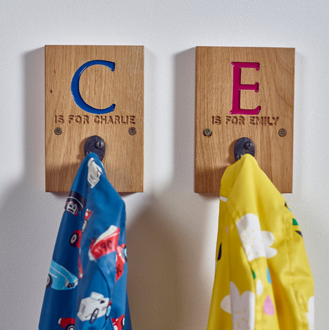 Personalised Children's Coat Peg