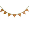 Personalised Children's Bunting - Engraved Oak Bunting