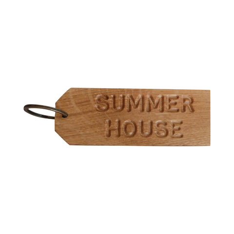 Summer House Keyring