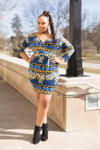 Load image into Gallery viewer, Off The Shoulder Wrap Dress
