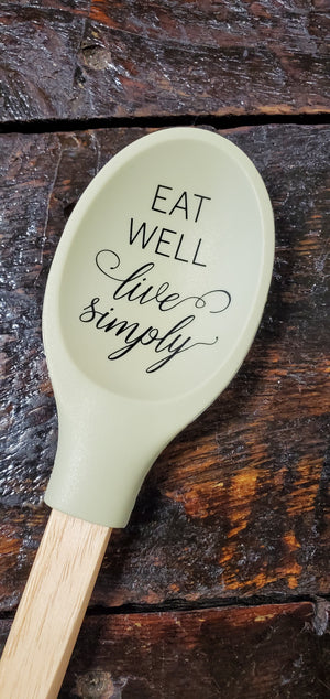 Farmhouse Silicone Spoon