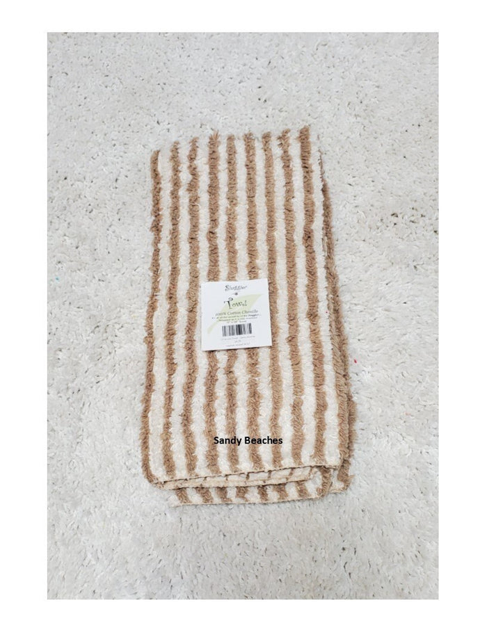 Janey Lynn's Designs Striped Towel