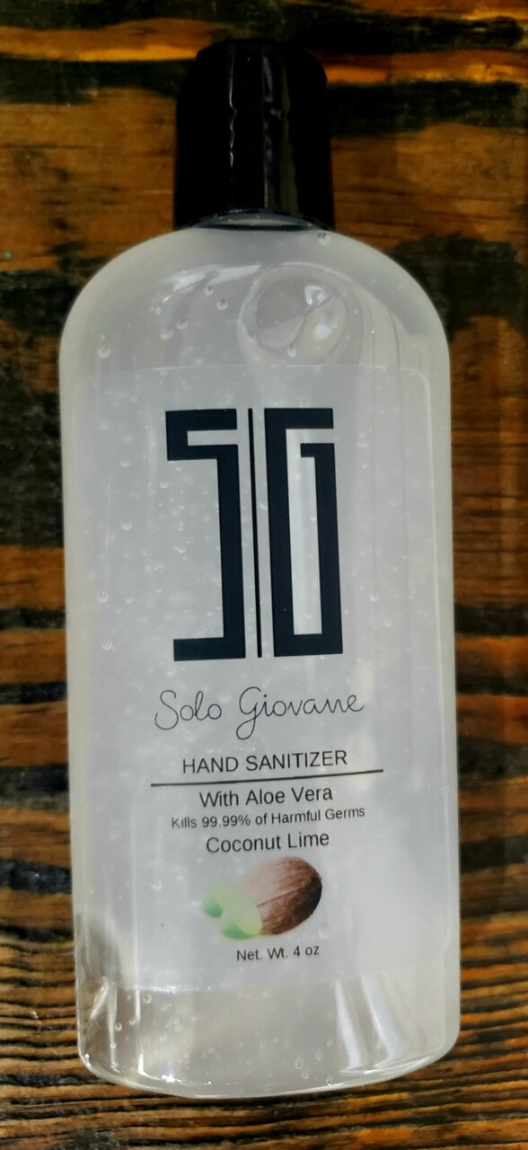 Solo Giovane Hand Sanitizer OL Coconut Lime